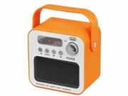 Radio przenośne MP3 USB Trevi DR 750 BT pomarańczowe