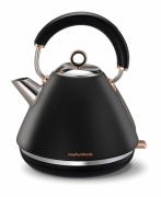 Czajnik Accents Rose Gold Morphy Richards 102104 czarny
