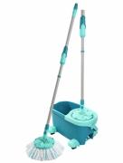 Mop obrotowy z kółkami Clean Twist Ergo Leifheit 52102