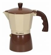 Zaparzacz Kawiarka do espresso 6 filiżanek Florina 1K2550 brązowa