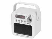 Radio przenośne MP3 USB  Trevi DR 750 BT białe