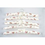 Wieszaki tekstylne na odzież Butterfly, 5 sztuk VESPERO