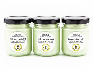 Masło do twarzy i ciała Zielona Herbata, Miodowa Mydlarnia
