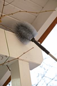 Profesjonalna szczotka z grubego włosia Leifheit 59123