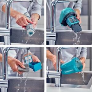 Odkurzacz pionowy 2w1 Regulus Aqua PowerVac Wet & Dry Leifheit 11914