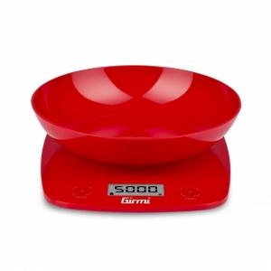 Elektroniczna waga kuchenna Girmi PS01 czerwona